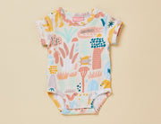 Sunset Kakadu Short Sleeve Bodysuit
