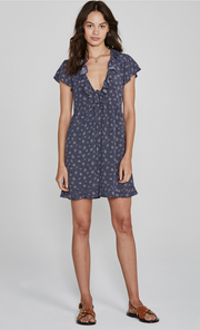 Jasmine Sunday Mini Dress Navy