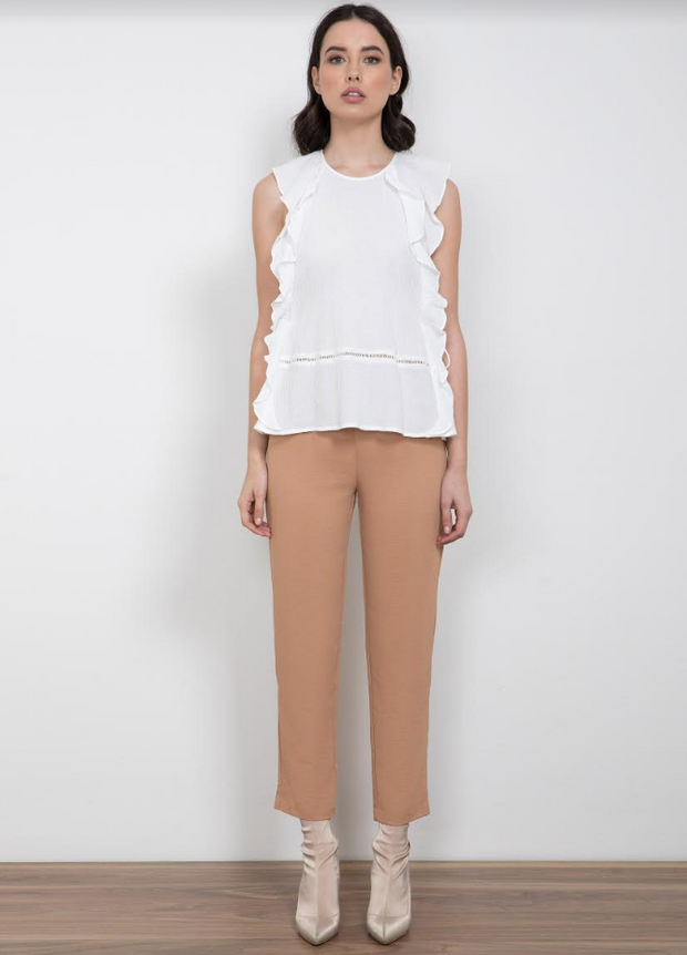 White Realism Top