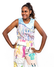 Bulgan Warra Sacred Lake Singlet Top