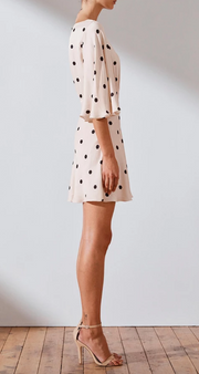 Shelby Circle Sleeve Mini Dress