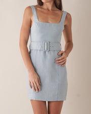 Silas Linen Mini Dress