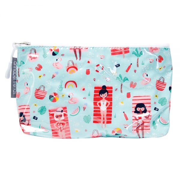 Cosmetic Bag - Small - Beach Babes