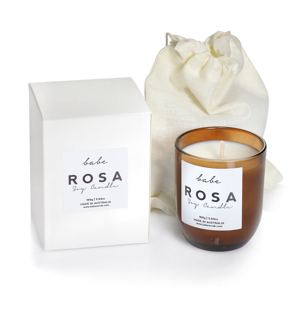 'ROSA' babe candle - 150g