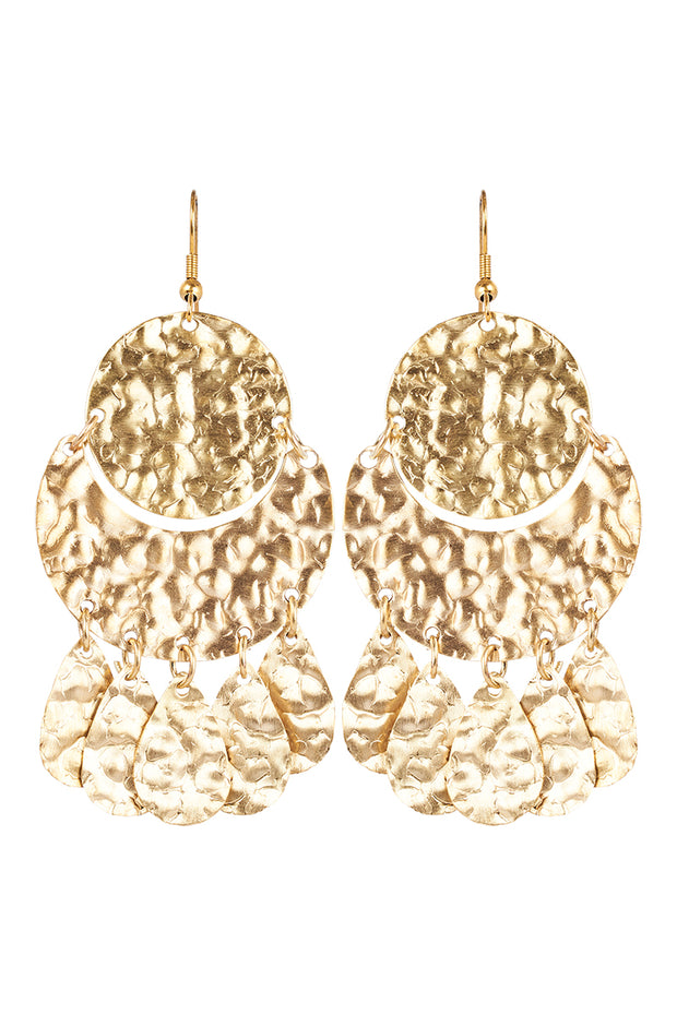 Kruger Disc Earring Gold