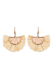 Moya Fan Earring Sand