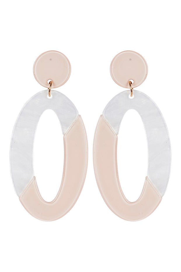 Kana Drop Earrings Ivory