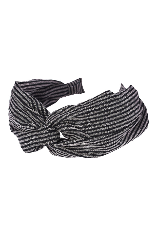 Mana Headband Black Stripe