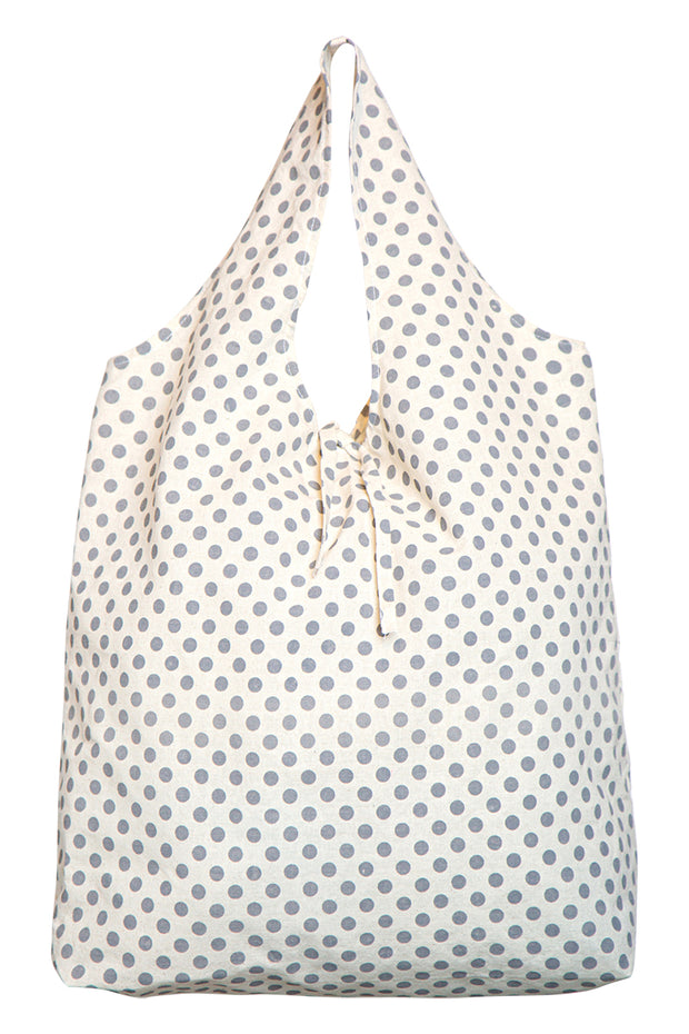 Mana Eco Shopper Grey Spot