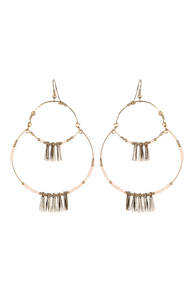 Masai Metal Earring Blush