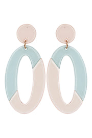 Kana Drop Earrings Sage