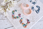 Tana Loop Earring Blush