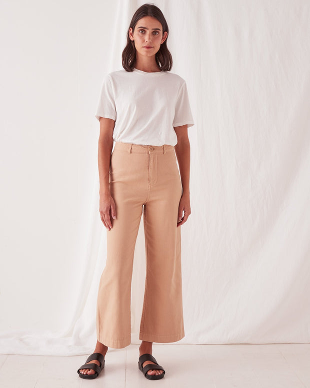 Tala Canvas Pant Taupe