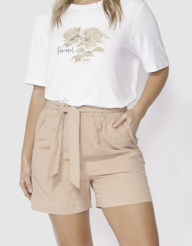 Golden Hour Shorts - Blush