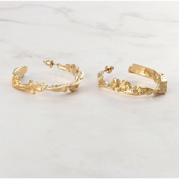 Helena Hoop Earrings