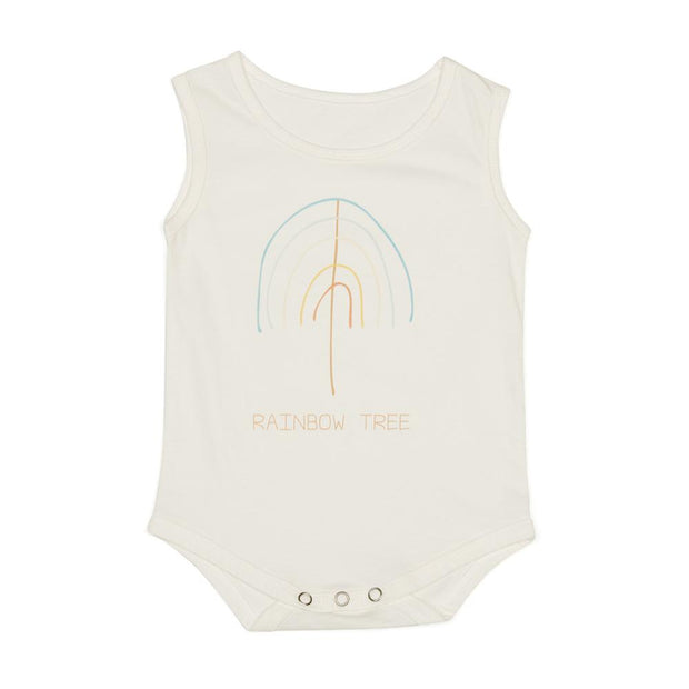 Rainbow Tree Singlet Onesie