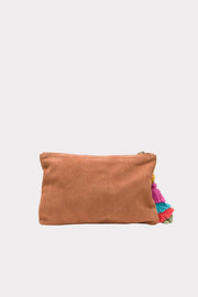 The Bedouin Clutch Terracotta