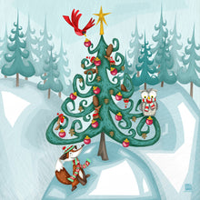 Load image into Gallery viewer, Jack & Jill Christmas Cards (Contemporary)