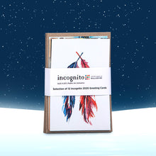 Load image into Gallery viewer, Incognito Greeting Cards Pack 01