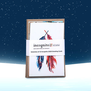 Incognito Greeting Cards Pack 01