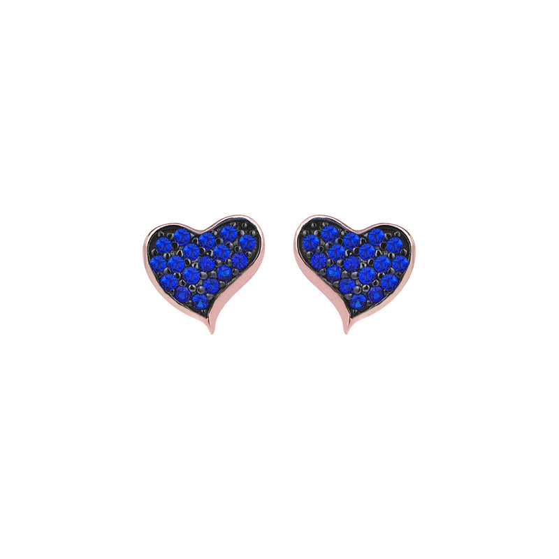 HEART WAVES STUDS