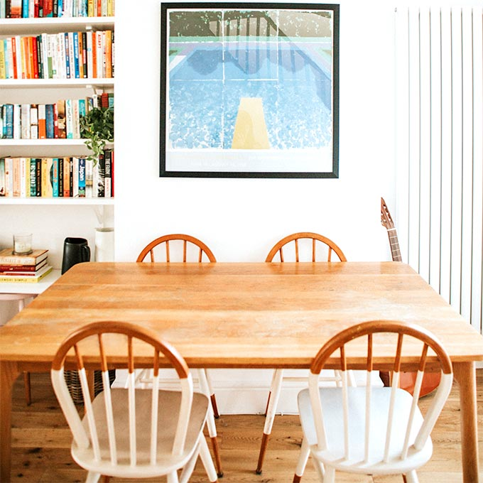 Vintage Furniture Is A Small Spaces' Best Friend