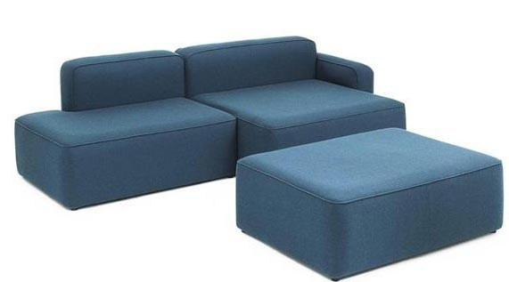 Space saving sectional sofas