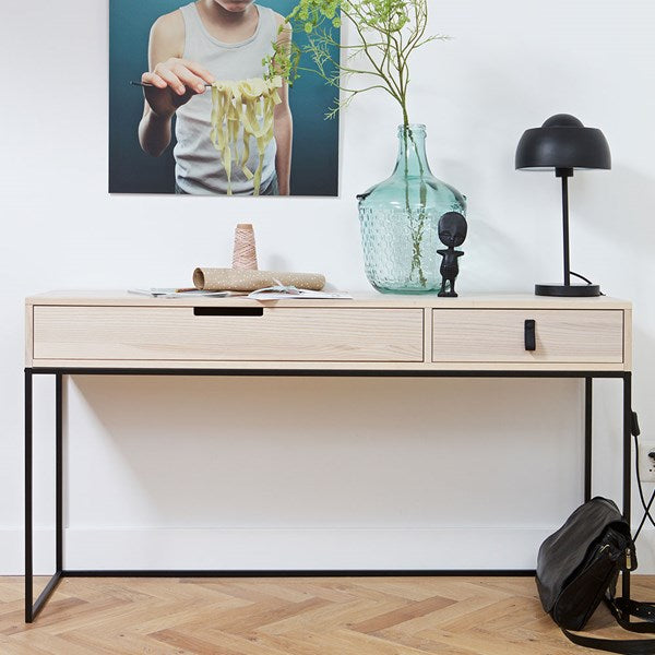 Silas Ash Console Table in Sydney by Woood