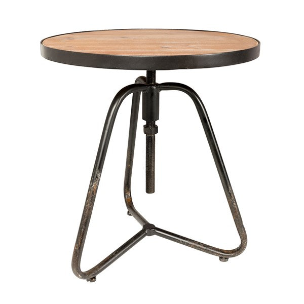 Denzel Industrial Side Table