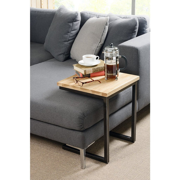 Quibix Industrial Side Table