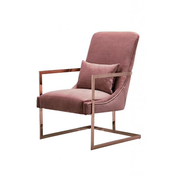 Vantagio Lounge Chair -Blush Pink
