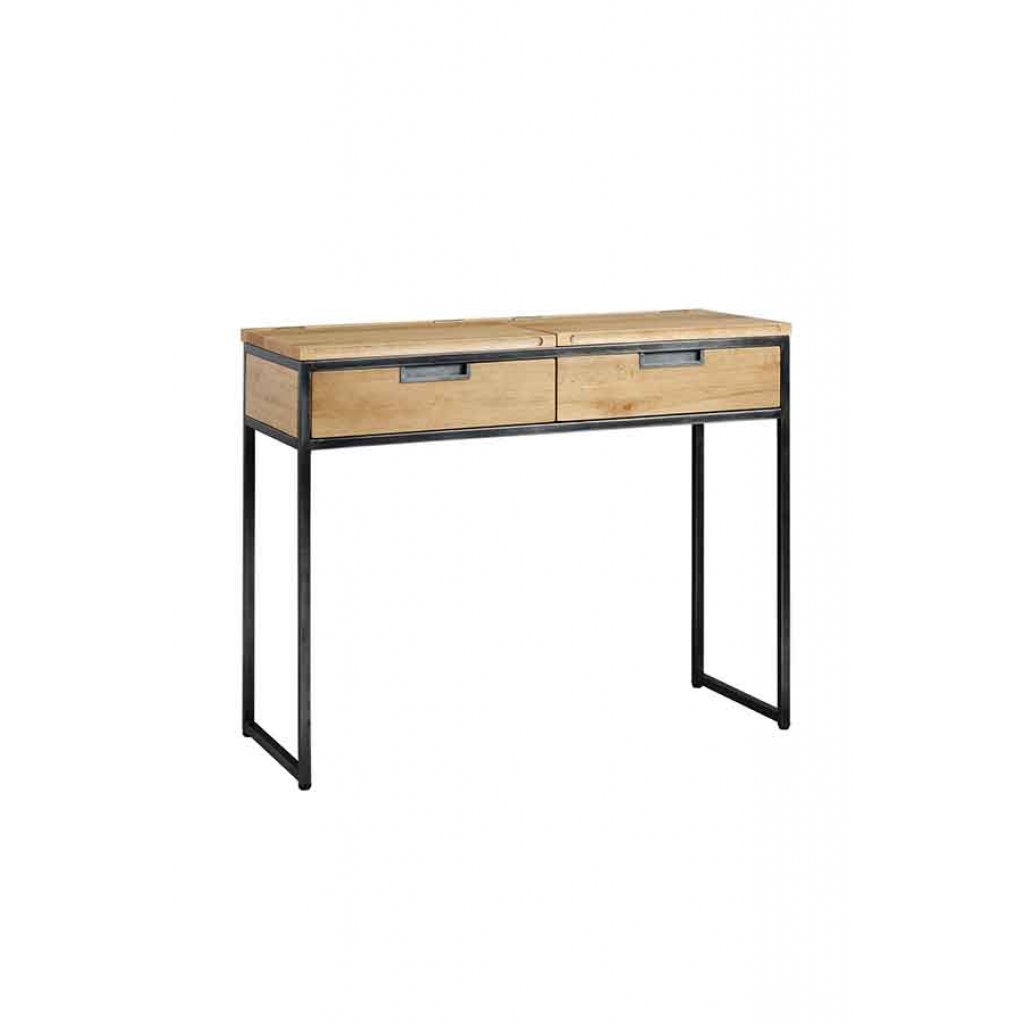 Small desk with storage