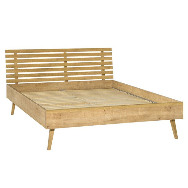 Vox Nature Bed with Slatted Headboard