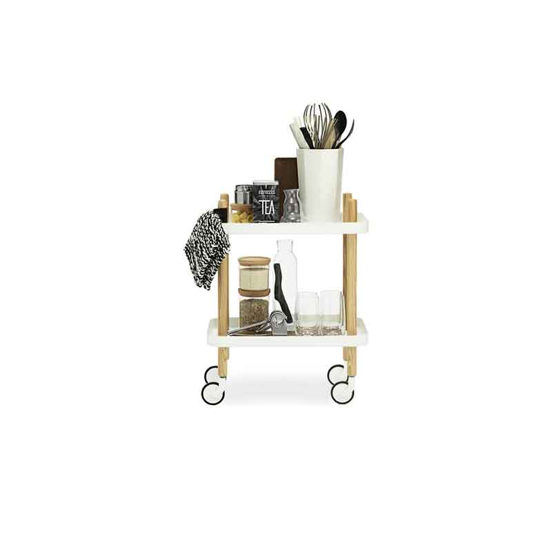 Normann Block Side Cart