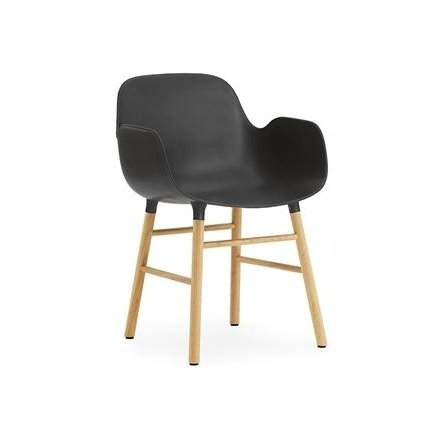 Normaan Oak Frame Chair
