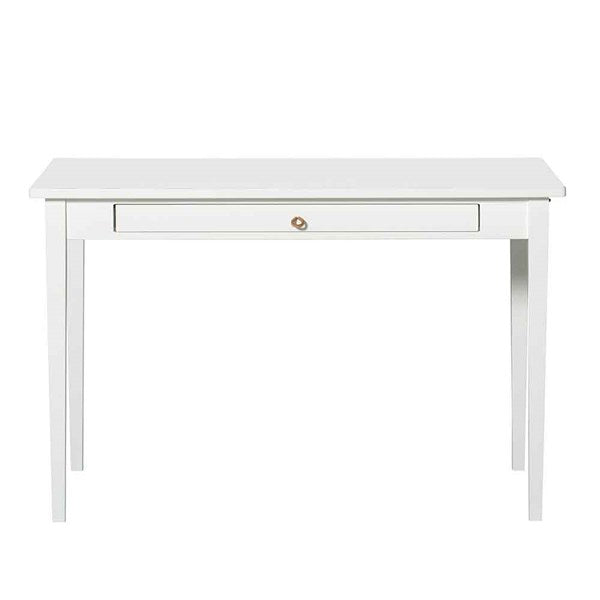 Oliver Furniture Small Office & Dining Table in White