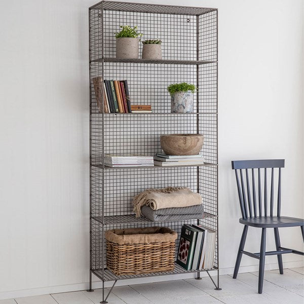 Garden Trading Large Portobello Wire Shelving Unit