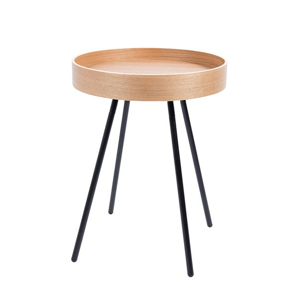 Zuiver Contemporary Side Table with Removable Tray