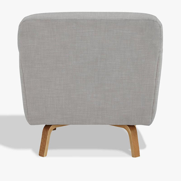 small armchair grey