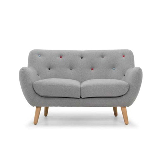 Small grey sofa - modern