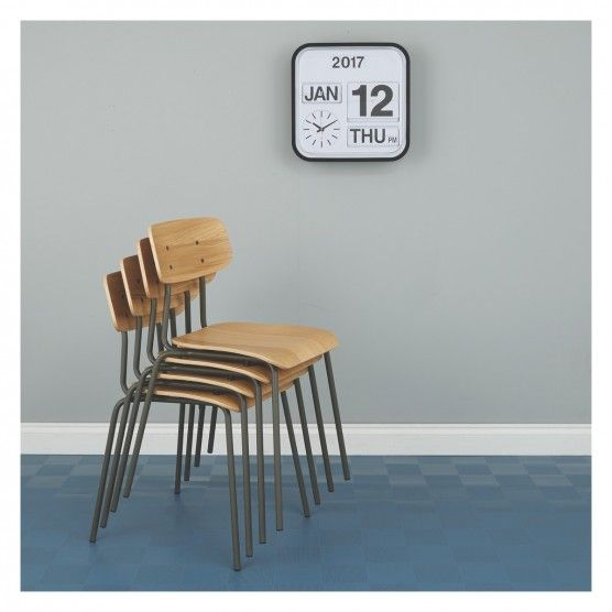 HESTER Blue Stackable Dining Chair