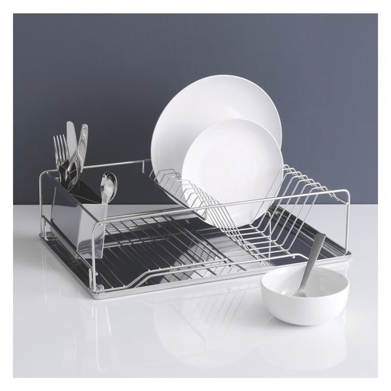 Stainless steel drying rack space saving