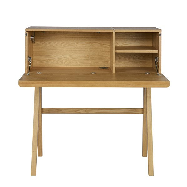 Bureau Writing Desk in Ash Veneer