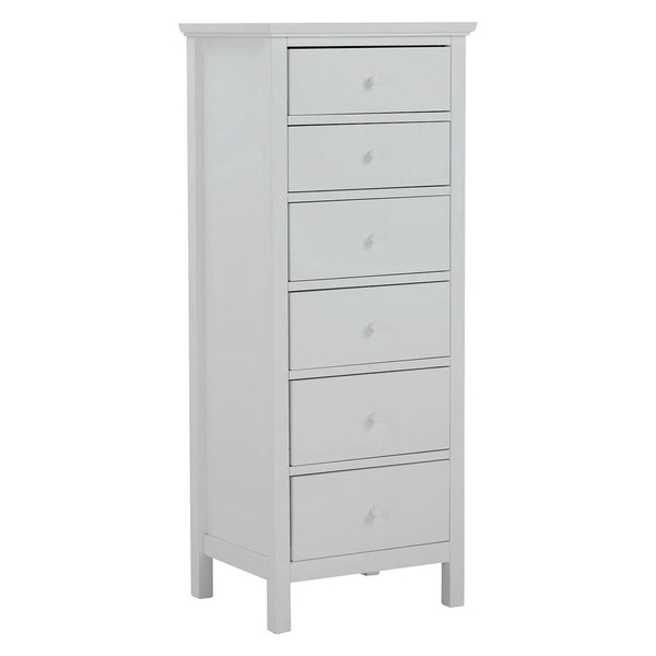 Grey tallboy chest of drawers