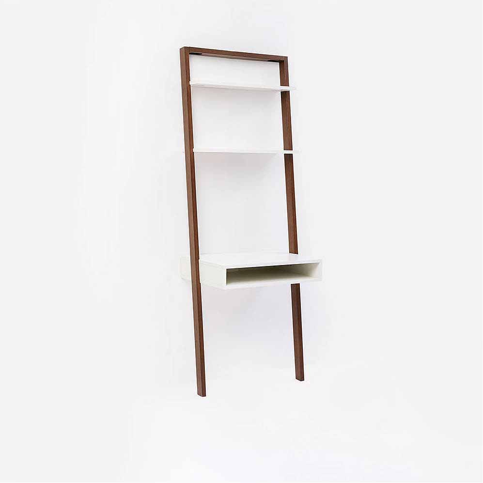 Ladder Shelf Storage Desk