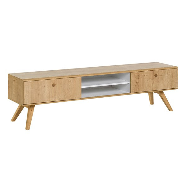 Vox Nature Wooden TV Stand in Oak Effect