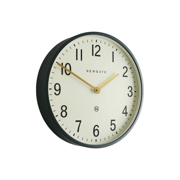 EDWARDS Dark Grey Metal Wall Clock