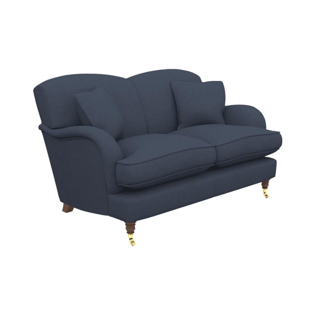 Small traditional sofa