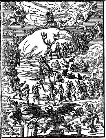Witches Sabbat and the Gathering on Walpurgis Night