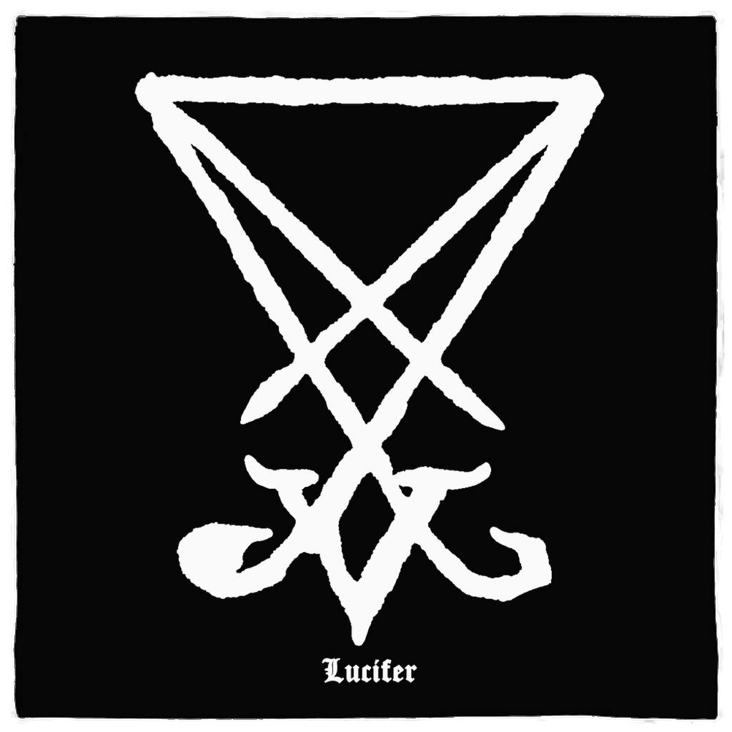 Sigil of Lucifer Altar Cloth